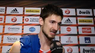 Tibor Plajs Nakon Finala Evrolige 2019   SPORT KLUB Košarka
