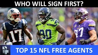 Top 15 NFL Free Agents Still Left Unsigned In 2020
