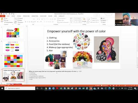Courageous Girl Webinar #7: Rock Your Color Energy!