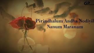 Pomatenda na Unna Vittu Pona Na Engu Poveno lyrics (What's app Status)