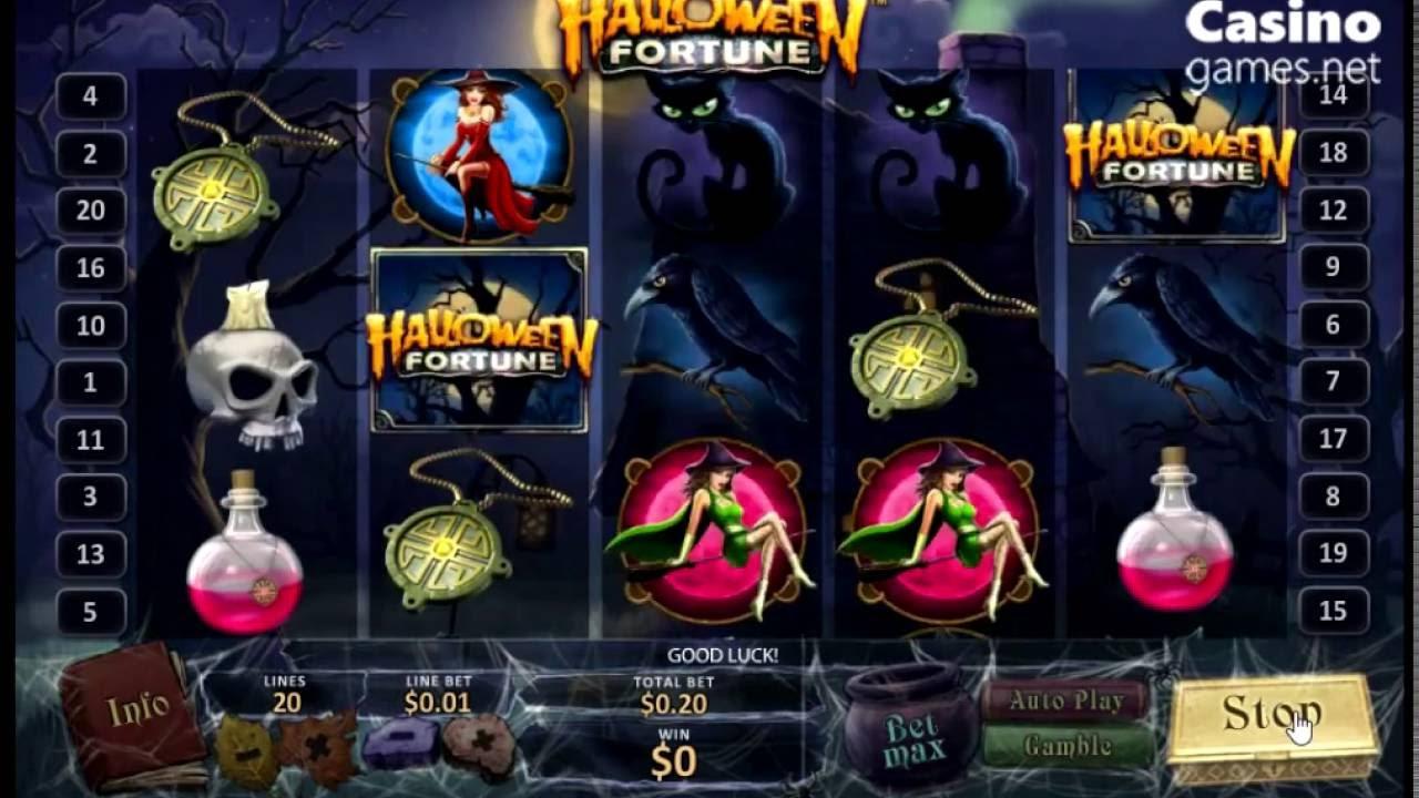 new slot machine halloween fortune