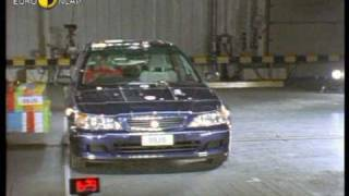 Euro NCAP   Honda Accord   2000   Crash test