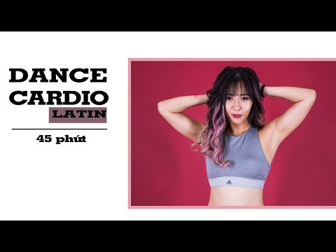 45 phút DANCE CARDIO (Latin dance) | Giảm mỡ bụng | All level ♡ Hana Giang Anh