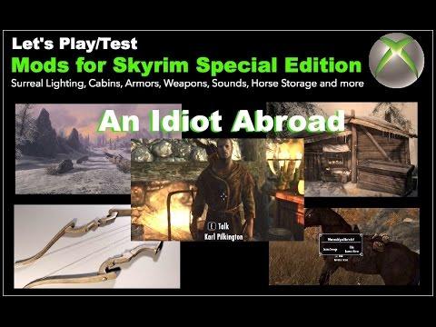 mod wont download skyrim xbox one