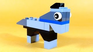 How To Build Lego Horse  - 10681 Lego® Creative Building Cube Creations For Kids