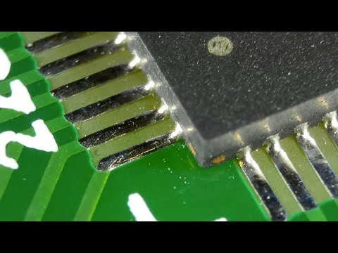 SMD Soldering - QFN Package