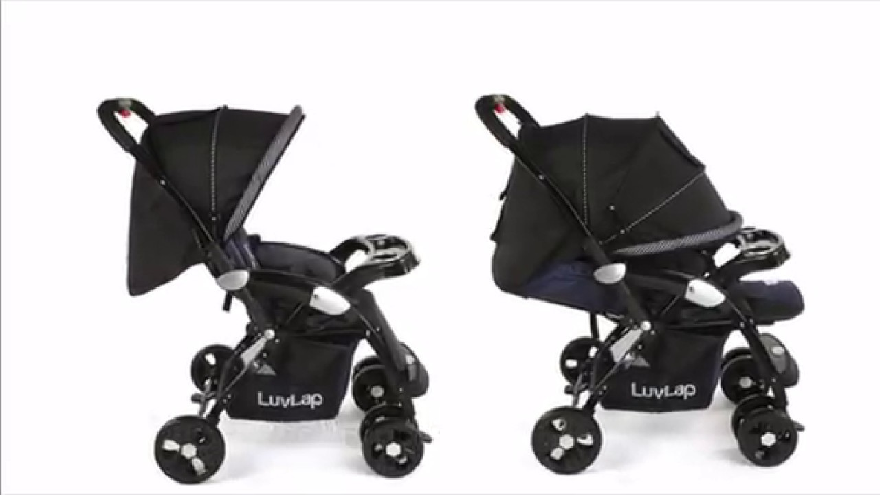 LuvLap Galaxy Baby Stroller and Pram - YouTube