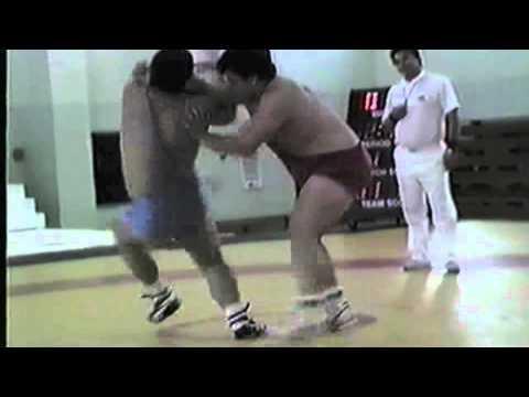 1988 Espoir World Cup: 130 kg Andrew Borodow (CAN) vs. Kenichi Suzuki (JPN)