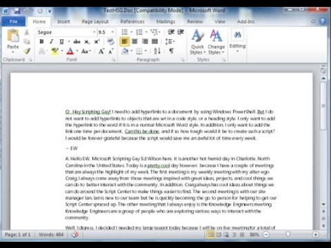 how do you unlock a password protected word document