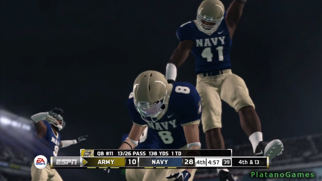 College Football Wallpapers Hd Ncaa College Football 14 Army Black Knights Vs Navy