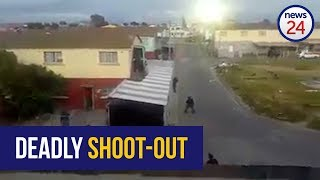 WATCH: Cape Town police officers injured in gang cross fire