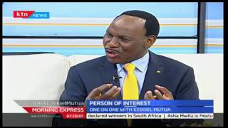 Morning Express: Ezekiel Mutua claims Kenyan society including the church has lost values, 18/10/16