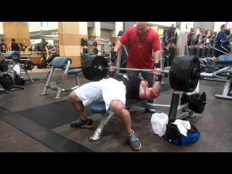 Bench Press 500 Lbs X 8 Reps (RAW)