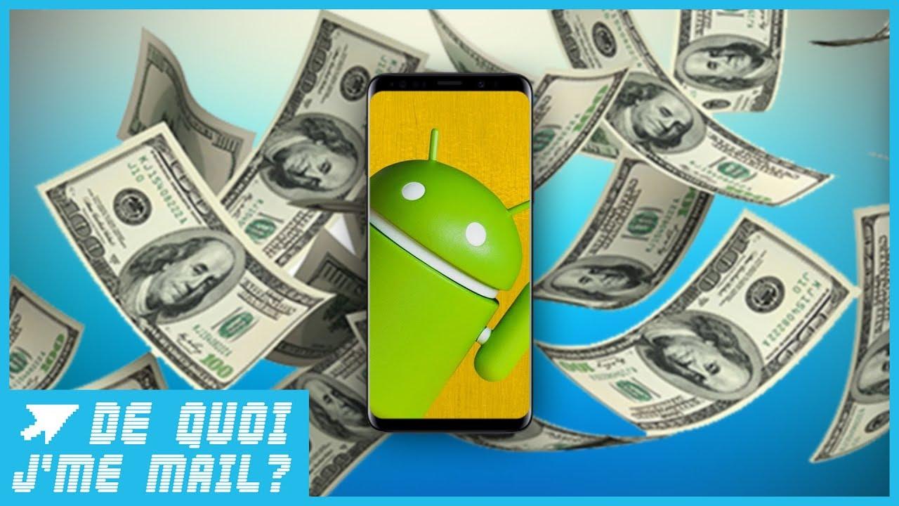 Les smartphones Android bientôt plus chers ? DQJMM (1/2)