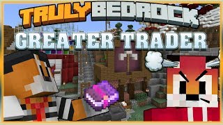 Truly Bedrock S1 EP18 Greater Trader ... Foxy n Mr Onion [ Minecraft, MCPE, Bedrock Edition ]