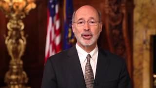 Governor Wolf's message for the 68th Jalsa Salana - USA