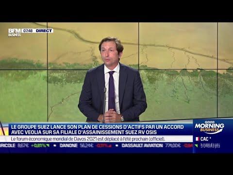 Bertrand Camus (Suez): Le groupe Suez lance son plan de cessions d'actifs par un accord avec Veolia