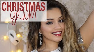 GRWM | Christmas GRWM w/ Feel Unique | Kaushal Beauty I Ad Thumbnail