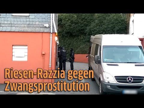 Razzia gegen Menschenhandel und Zwangsprostituion in Bonn, Siegen, Dortmund
