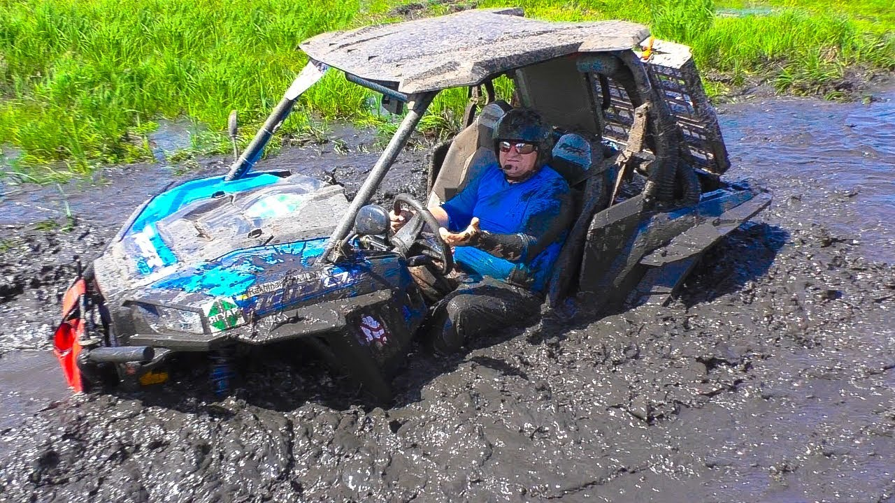 Багги Polaris RZR XP 1000 чуть не утонул в Болоте - off-road.