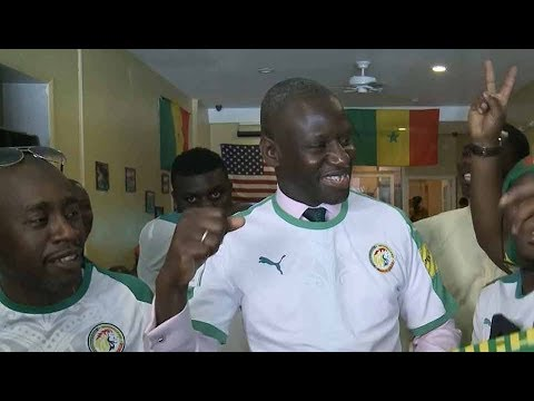 African diaspora in New York cheer on Nigeria and Senegal in World Cup