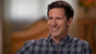 Andy samberg best impression, talks 'storks'