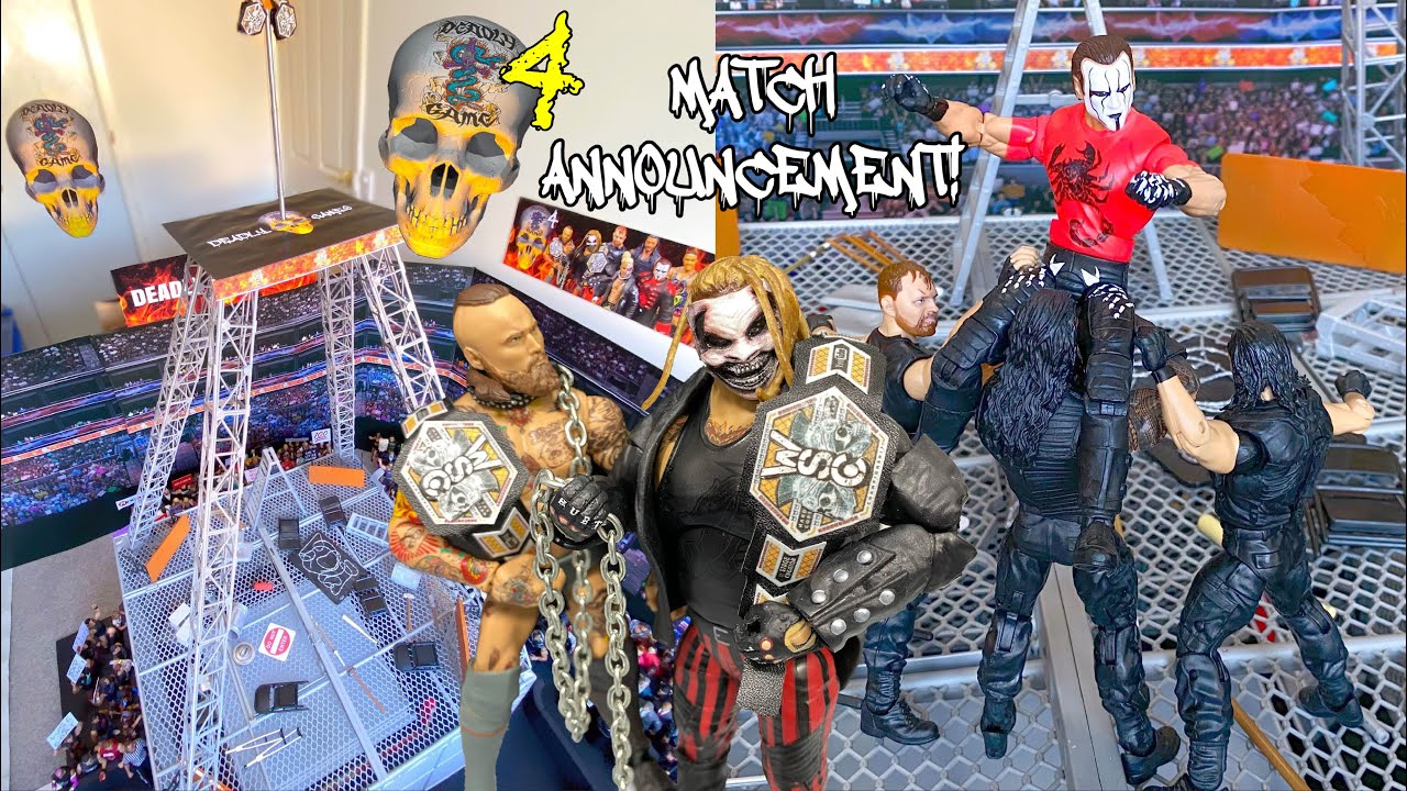 DEADLY GAMES 4 ACTION FIGURE MATCH ANNOUNCEMENT & PREVIEW!