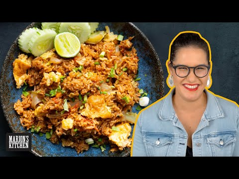 The OLD SCHOOL Thai fried rice recipe you should know about 💯 | Marion's Kitchen