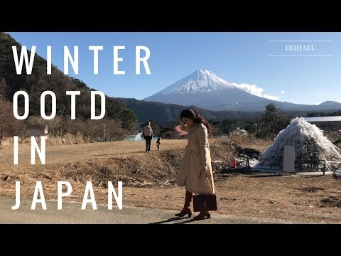 Japan OOTD for WInter //  Lookbook