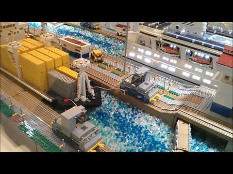 Piece of Peace Lego HK 2013 Part 3 Panama Canal