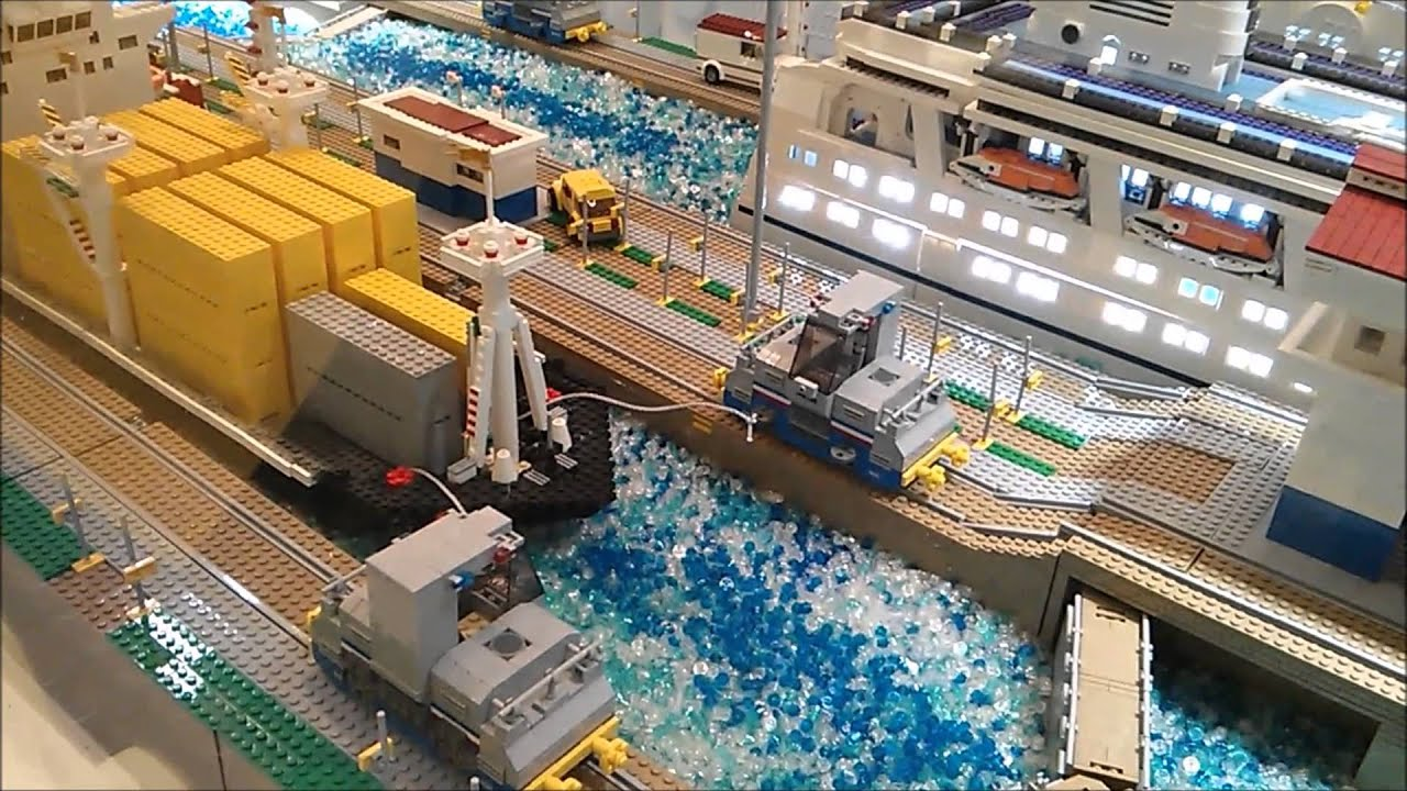 Piece Of Peace Lego Hk 2013 Part 3 Panama Canal Youtube
