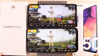 Huawei P30 lite vs Samsung Galaxy A50 Speed Test and Pubg Test