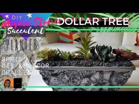 diy-dollar-tree-mosaic-stone-planter-|-home-decor-diy-|-dollar-tree-diy-|-crafting-with-cass