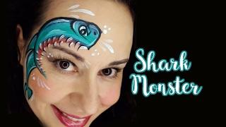 5 Shark Face Paint Designs To Try Face Paint Shop Australia