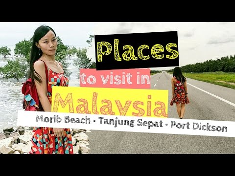 Places to visit in Malaysia 2017 - Morib Beach - Tanjung Sepat - Port Dickson [Small Girl Big World]