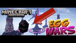 Minecraft [PE]0.16.0 EggWars Server!!   Minecraft Pe Egg Wars Nasıl Oynanır ?   How to Play THE Egg