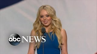 Tiffany Trump RNC Speech: Highlights Trump