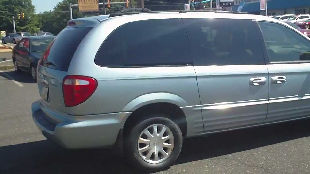 2003 Chrysler Voyager Tv Dvd Heated Leather Seats