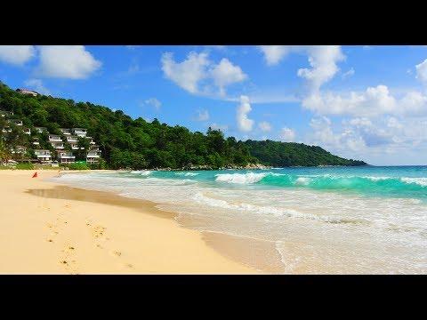 Тайланд Пхукет 2019 Пляжи Природа Отдых Море