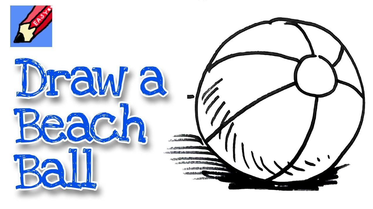 How to draw a Beachball Real Easy - Spoken Tutorial- for ...