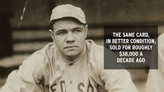 Babe Ruth Rookie Card Sells For $130,000 in Auction