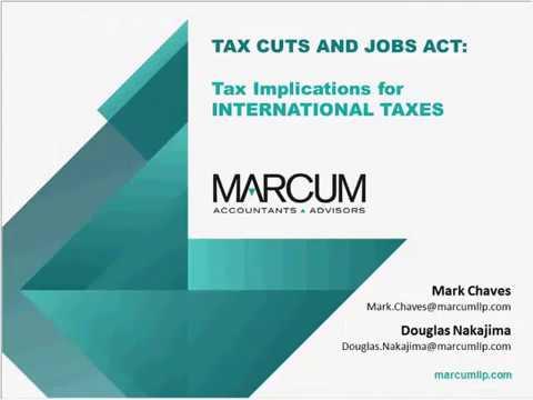 Tax Planning Webinar Series: International Tax
