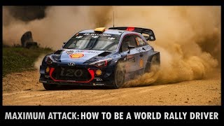 How to be a World Rally Driver