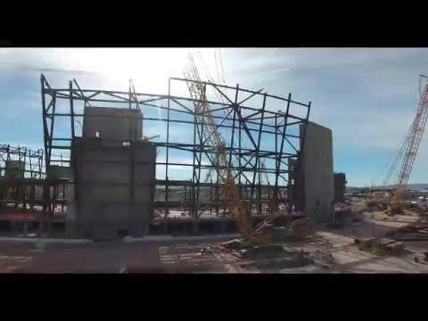 New Raiders Stadium Construction In Las Vegas 2018