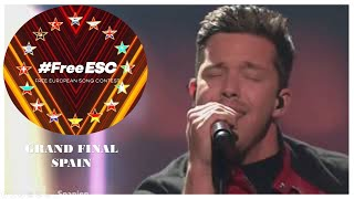 Nico Santos  - Like I Love You | Winner of Free European Song Contest 2020 Final Spain #FreeESC