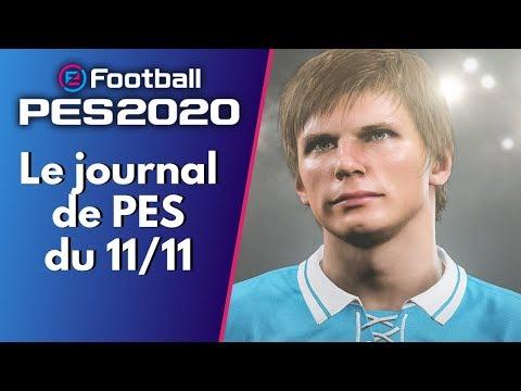 PES 2020 : Le Journal de PES du 11/11