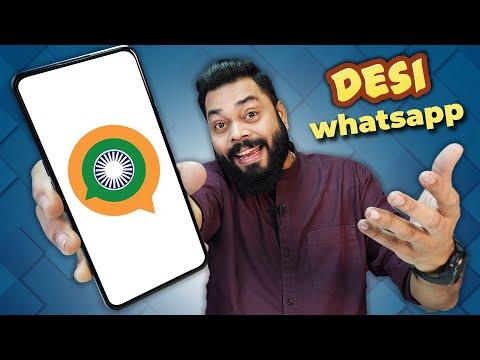 Desi WhatsApp Alternative Is Here ⚡ SANDES Messaging App Hands On & Best Features