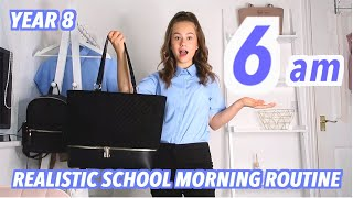 Realistic School Morning Routine 2020