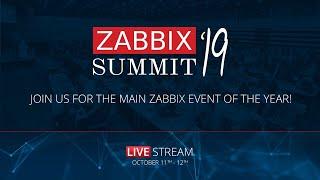 Zabbix Summit 2019 DAY 2 - LIVE