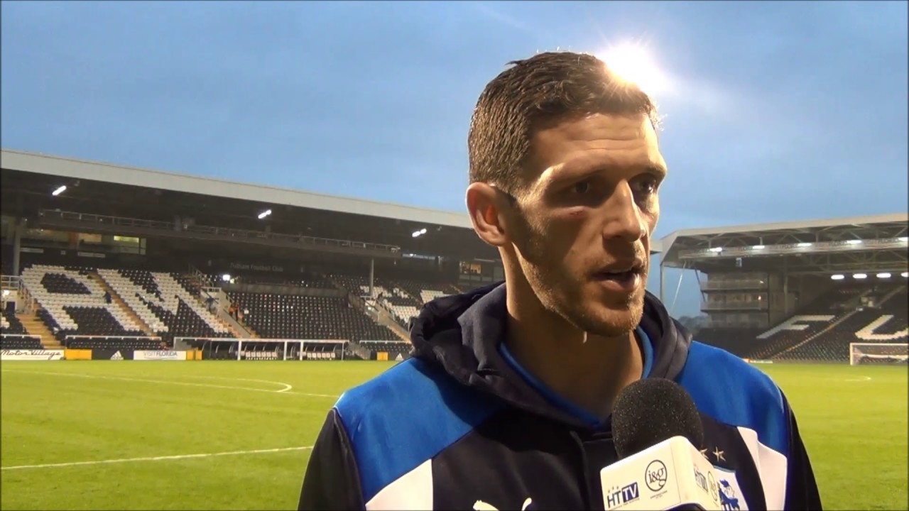 INTERVIEW: Mark Hudson praises Town fans after defeat to Fulham - YouTube